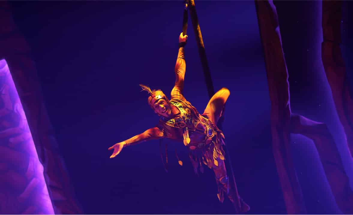 Aerial Artist – My first contract